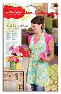 Heather Bailey Daily Spice Halter Apron Sewing Pattern