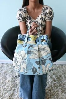 Amy Butler Frenchy Bag, Lotus Fabric