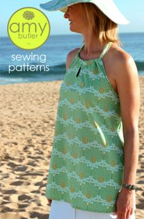 Amy Butler Midwest Modern Sun Surf Halter Sewing Pattern